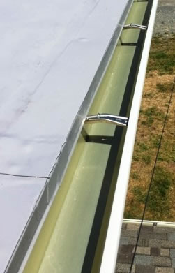 Aluminuma Gutter Replacement