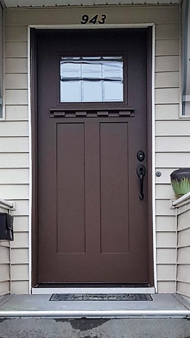 Craftsman Style Eantry Door